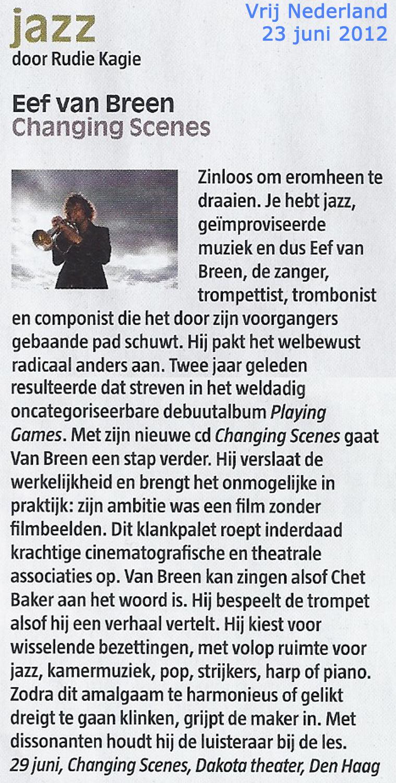 review vrij nederland