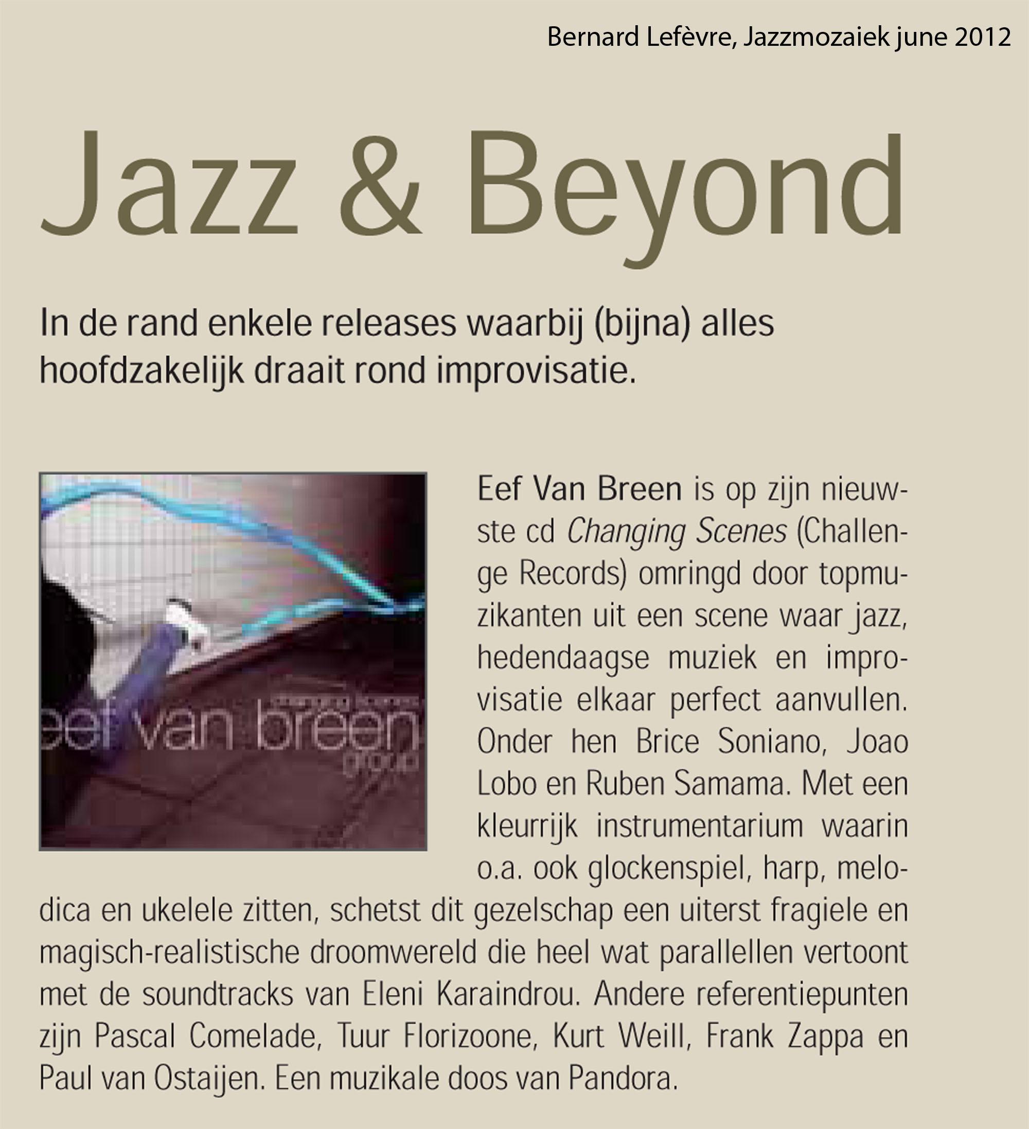 Jazzmozaiek 2012